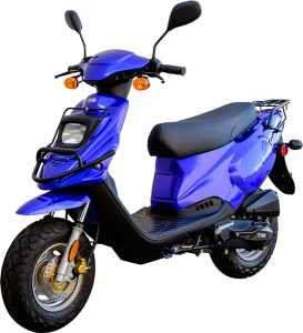 50cc 2-stroke scooter